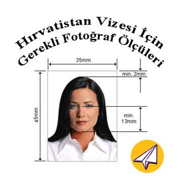 hirvatistan vizesi icin gereken fotograf olculeri