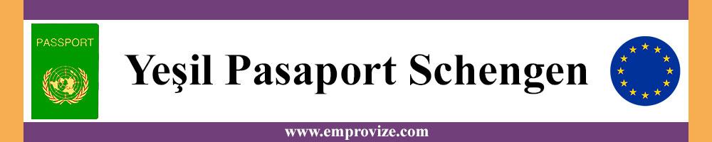 yesil pasaport icin schengen vizesi